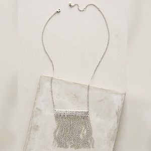 Silver Falls Necklace by Anthropologie
